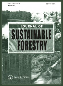 Sustainable forestry Journal cover