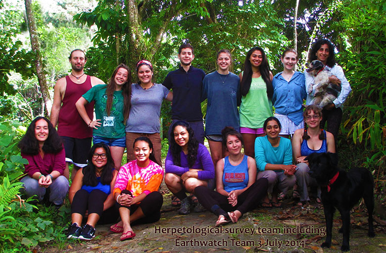 HERP TEAM July 2014 w EW 3