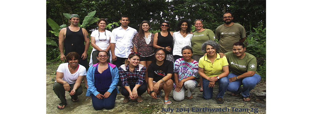 Earthwatch Expeditions – We salute you all! July 2014