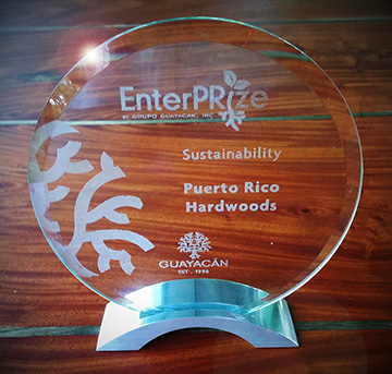 Sustainability Award for PRH May 2016