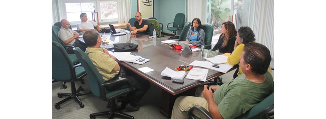 May 6th 2013, meeting at Cayey University.