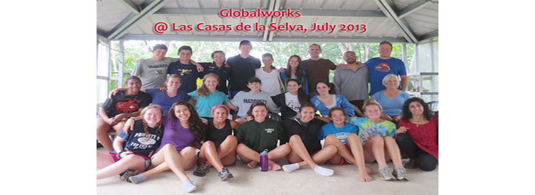 Globalworks teens at Las Casas July 2013