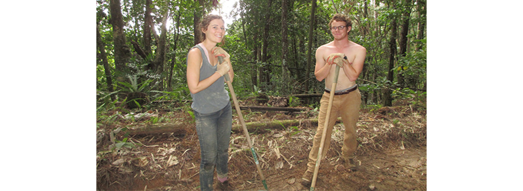 Vella, Genny, and Tim – volunteers March 2014