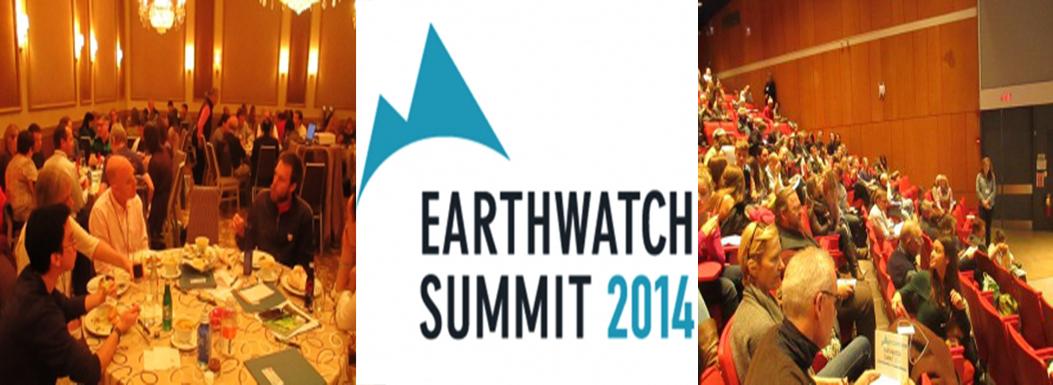 Earthwatch Summit October 2014, Cambridge, Boston
