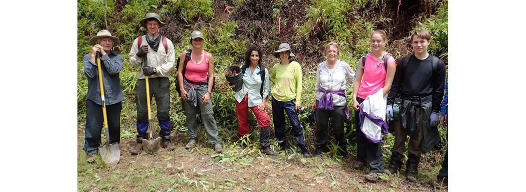 Earthwatch Team 2 June 2015