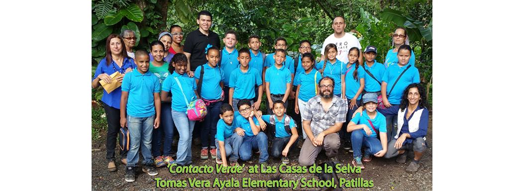 Contacto Verde –  Tomas Vera Ayala School,  12 October 2016