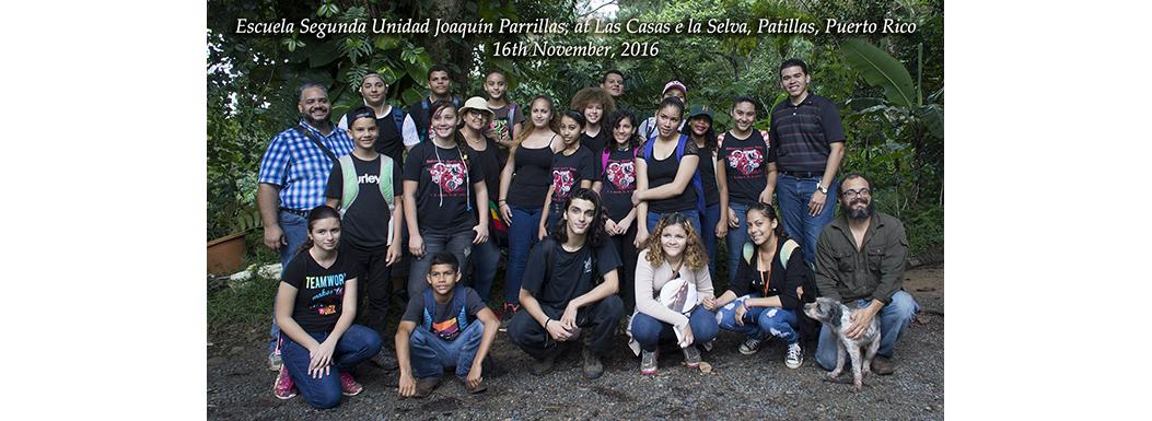 Contacto Verde- Escuela Segunda Unidad Joaquin Parillas – Nov 2016